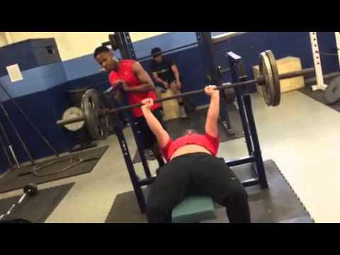 East montgomery High school sophomore Bench press