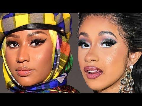 Future Caught In The Cardi B & Nicki Minaj Feud  Hollywoodlife