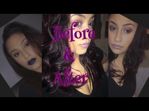 Coloring Hair Amethyst Black