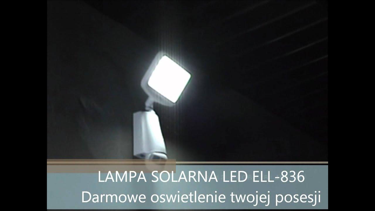 Lampa Solarna Ell 836 Całkowita Nowość Wwwlampysolarpl