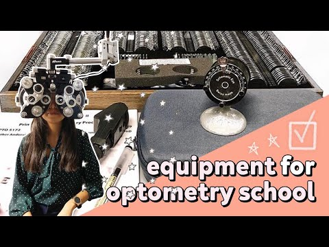 My Equipment Kits For Optometry School + Prices