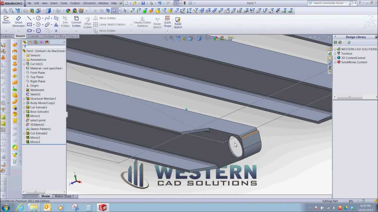 OILFIELD BUILDING PART 1 - SKID RUNNERS AND ROLL ENDS