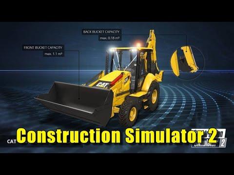 construction simulator 2 2016 vehicle gameplay youtube. Black Bedroom Furniture Sets. Home Design Ideas