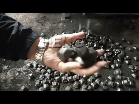 How to make charcoal briquettes from coal dust