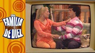Los mejores momentos de Gaby y Plutarco | Una familia de diez | Distrito comedia