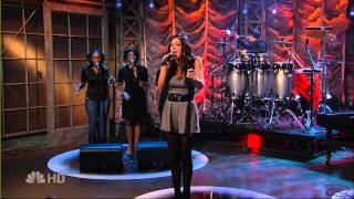 Katharine McPhee Over It Live at Jay Leno 2007 HDTV 1080i