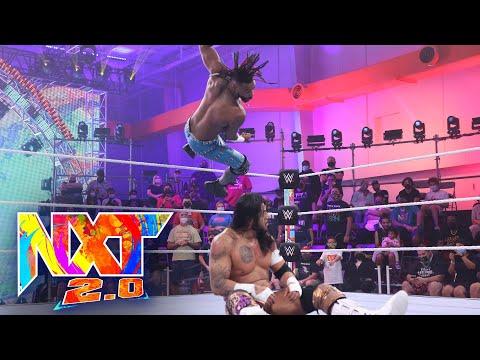 "Isaiah ""Swerve"" Scott vs. Santos Escobar – NXT North American Championship: WWE NXT, Oct. 12, 2021"