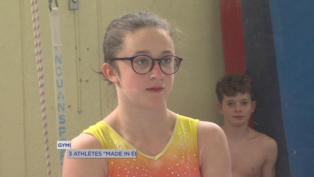 "Yvelines | Gymnastique : 3 pépites ""Made in Elancourt-Maurepas"""