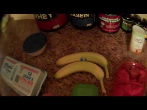 BodyBuilder Diet Example