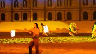 Рим - конное шоу в Абрау-Дюрсо