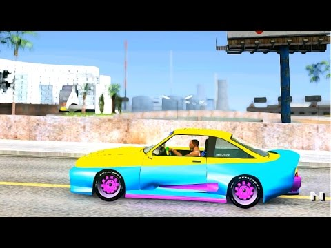 GTA San Andreas - OPEL Manta with Mattig Bodykit EnRoMovies