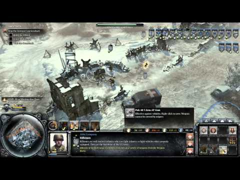 Company Of Heroes 2 Ardennes Assault [Part 5] - Watch Me Fail |