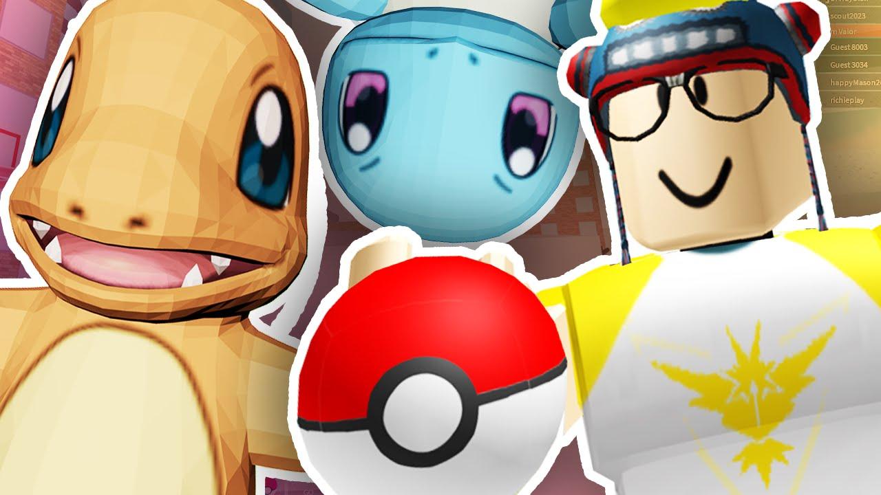 Pokemon Go In Roblox Roblox Youtube