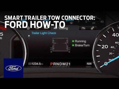 Smart Trailer Tow Connector | Ford How-To | Ford