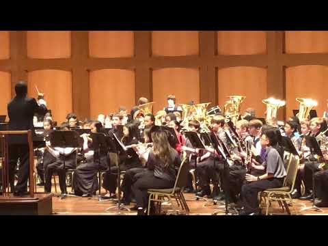2018 Tennessee All West Blue Band - Accolade by William Himes