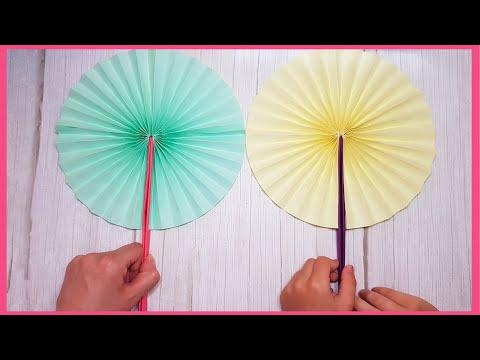 Как сделать веер из бумаги для украшения своими руками