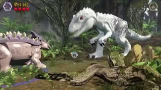 Лего мультик игра про динозавров.Эпизод 7.LEGO cartoon game about dinosaurs.Episode 7.레고.Лего игры