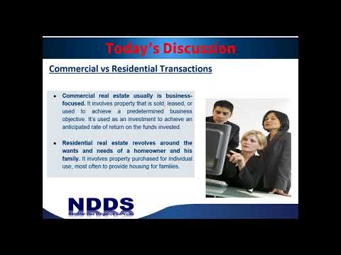 Commercial vs. Residential Transactions: The Complexities and Needed Due Diligence