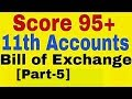 Bill of Exchange [Part-5] Class 11 Accounts,Dishonour of Bill,