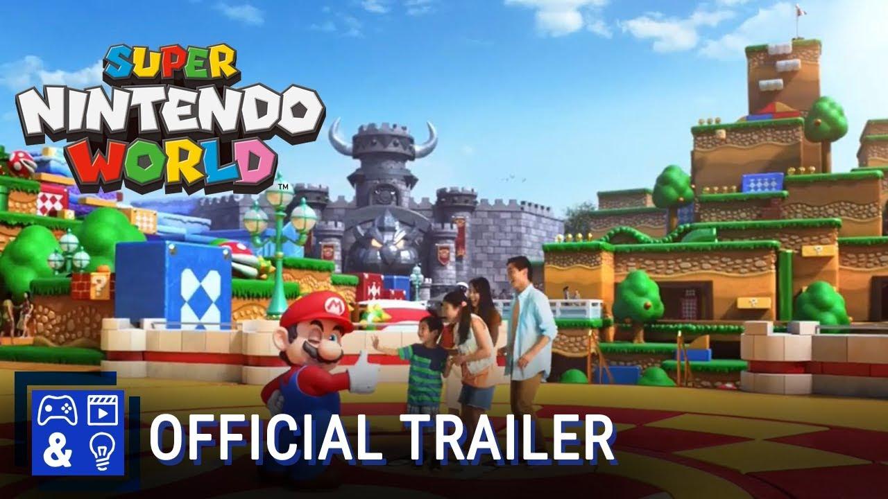 Super Nintendo World Universal Studio Japan Youtube