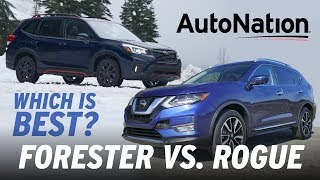 2019 Subaru Forester vs. Nissan Rogue: Which is Best? #autonationdrive