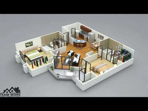 3d Small Home Plans Interior Design