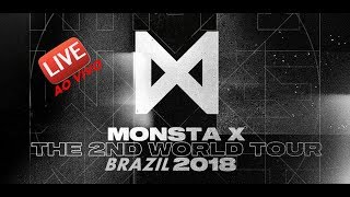 Show Do Monsta X No BRASIL COMPLETO! 12/08/2018 / INSCREVAM-SE