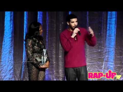 "Drake Disses Universal Motown President ""Sylvia Rhone"" While Accepting Award!"