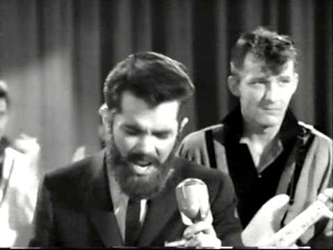 John Ashley with fake beard  Annie Laurie 1958 Feat. Gene Vincent & The Blue Caps