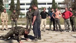 Школа отечественных боевых искусств . Тюнин С.В.Семинар в Крыму . 2013 год .
