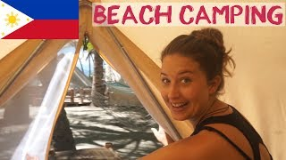 Best Beach Camping Philippines | Empty Beach Siquijor
