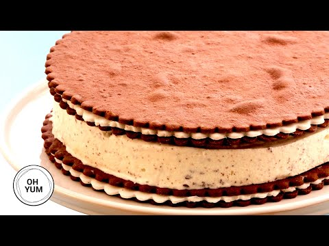 How To Make AMAZING Cookies And Cream Ice Cream Cake