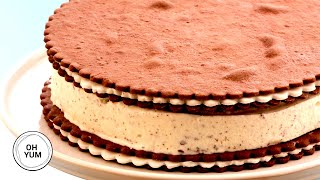 Cookies and Cream Ice Cream Cake | Oh Yum with Anna Olson