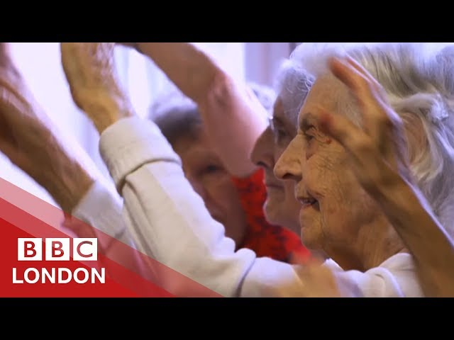Why these OAPs are getting into hip-hop - BBC London