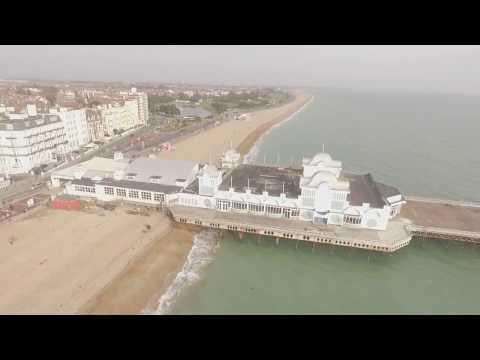Southsea, Portsmouth by Drone DJI Phantom 3 Advanced