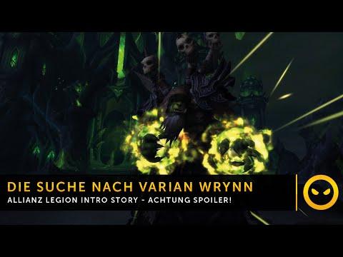 WoW Legion - Allianz Prequest: Auf der Suche nach Varian Wrynn! [SPOILER]