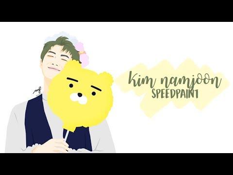 Kim Namjoon [SPEEDPAINT] #HappyNamjoonDay