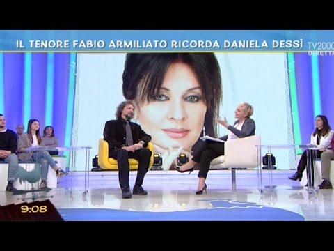 Il tenore Fabio Armiliato ricorda Daniela Dessì