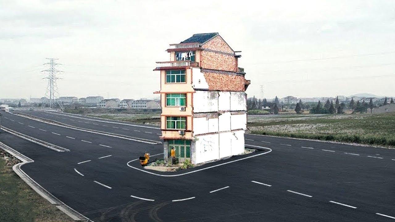 आखिर क्यों बिच सड़क पर बना डाला इस घर को ?   Top Amazing Facts in the World.