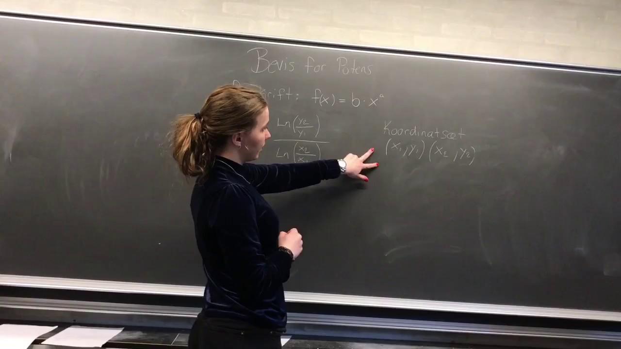 God video om matematik lavet af kloge mennesker