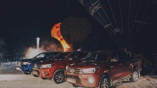 Испытание Toyota Hilux 2016  Бородатая Езда