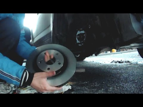Замена тормозных дисков Toyota Rav-4