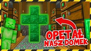 Minecraft FERAJNA: ZIELONY STEVE OPĘTAŁ NASZ DOMEK!