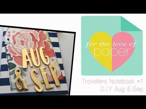Travellers Notebook ~ #1 ~ create a notebook
