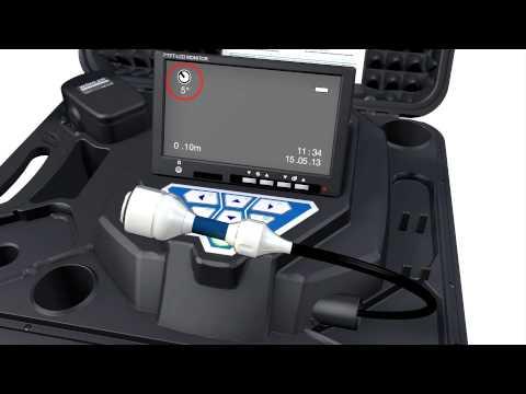 NEU: Wöhler VIS 250 Videoinspektionskamera mit dem Wöhler L 200 Locator