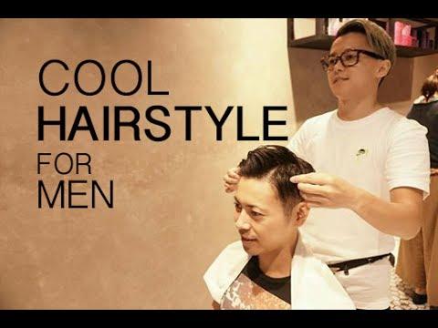 Potong rambut gaya kekinian. Orang Jepang di Indonesia【7:3 cliff up with under cut for men's】