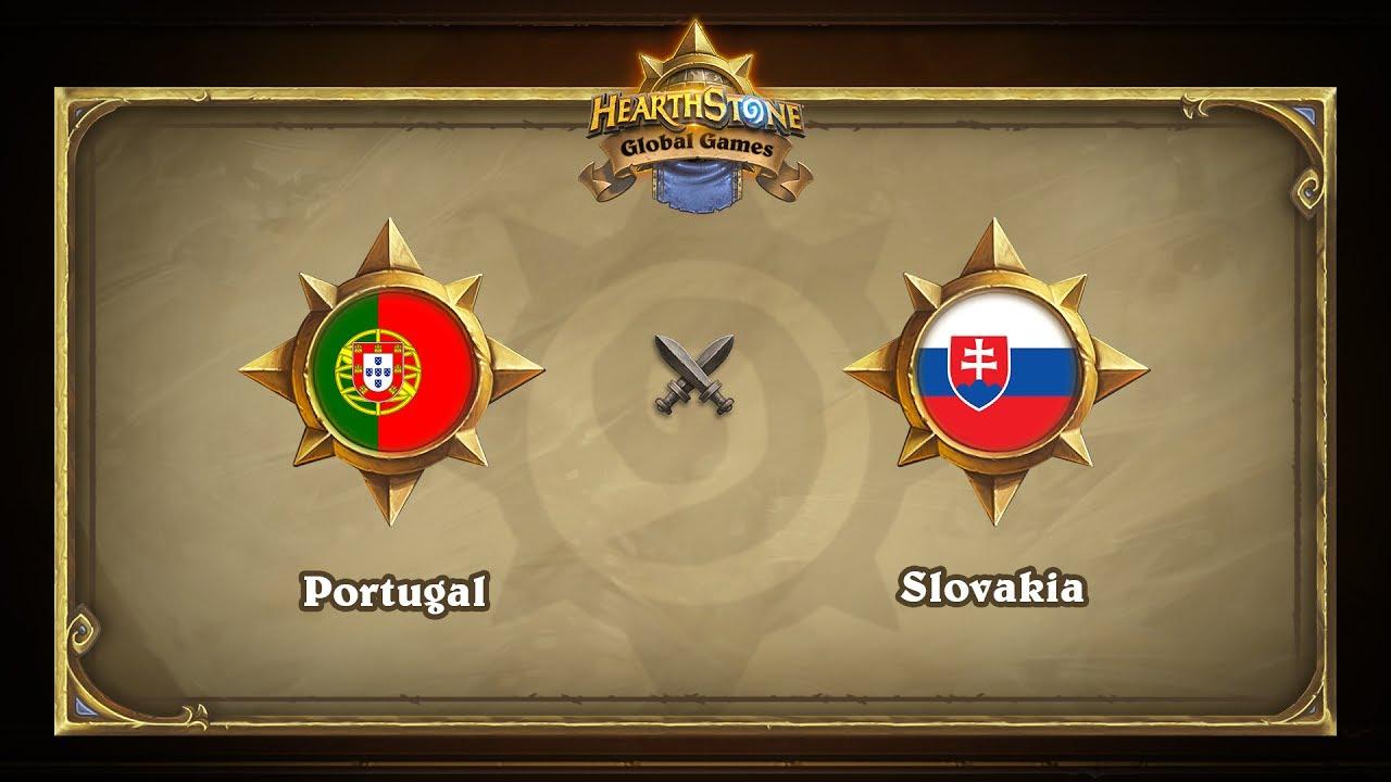 Португалия vs Словакия | Portugal vs Slovakia | Hearthstone Global Games (07.06.2017)