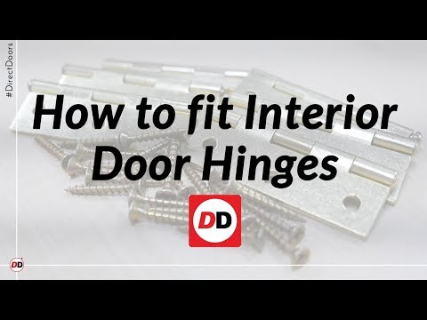 How to fit interior door hinges youtube how to fit interior door hinges planetlyrics Gallery