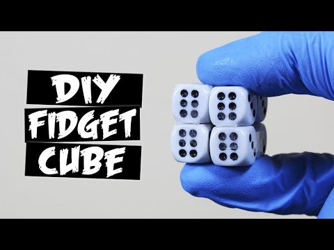 DIY Magic Dice Fidget Cube