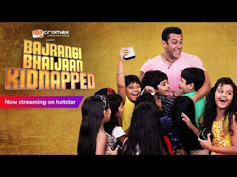 Bajrangi Bhaijaan Kidnapped - Watch Salman Khan Answering Questions From His Little Fans!